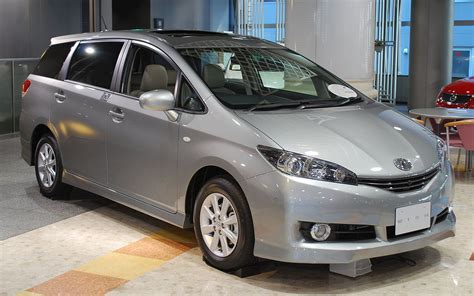 toyota wish toyota wish wikipedia