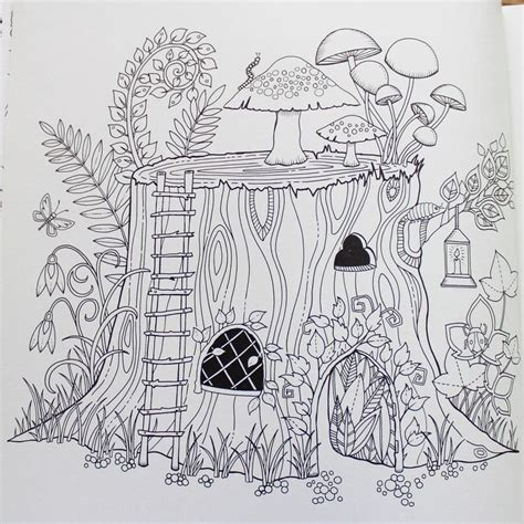 coloring book for adults enchanted forest enchanted forest an inky quest coloring book johanna