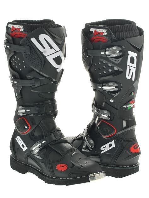 sidi crossfire motocross boots sidi black crossfire 2 mx boot sidi freestylextreme