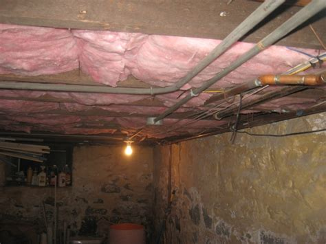 insulate a basement ceiling with building moxie as the diy