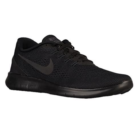 nike free rn s running shoes black black