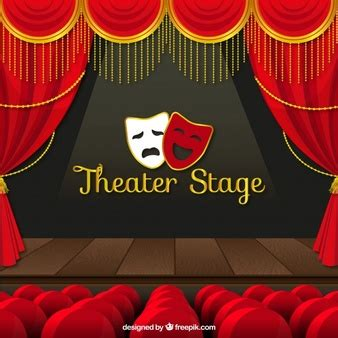 Red Theatre Curtains Concert Vectors Photos And Psd Files Free Download