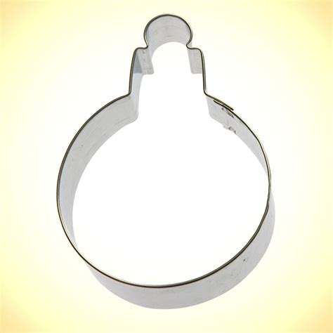 ornament round cookie cutter 3 75 in cookie cutter