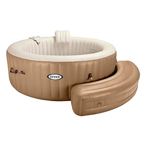 inflatable bench intex inflatable 28507 bench for round pure spa bubble