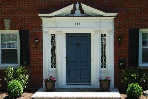 Colonial Exterior Doors Maplewood Homes And Front Doors Maplewood New Jersey Has Some Of The Most Charming Homes In