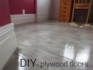 diy plywood plank floors centsational girl diy concrete floor painting ideas kitchen regarding