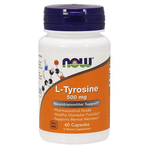 Taking L Tyrosine For Tramadol Detox by Now L Tyrosine 500 Mg Illpumpyouup