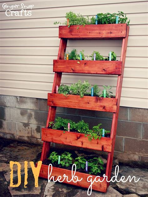how to build an herb garden 16 genius vertical gardening ideas for small gardens