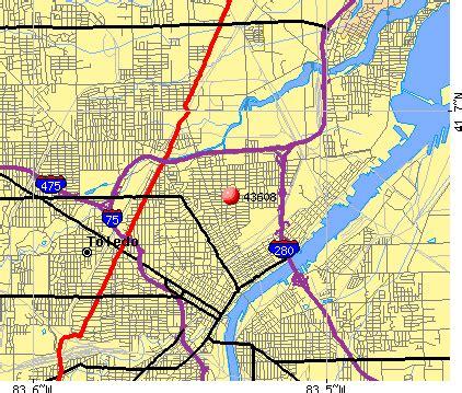 zip code map toledo ohio toledo zip code map my blog