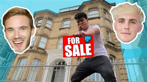 pewdiepie house i put pewdiepie house up for sale jake paul inspired