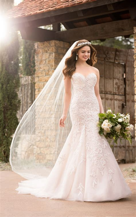Wedding Dress by Mermaid Wedding Dresses Sparkling Mermaid Wedding Gown
