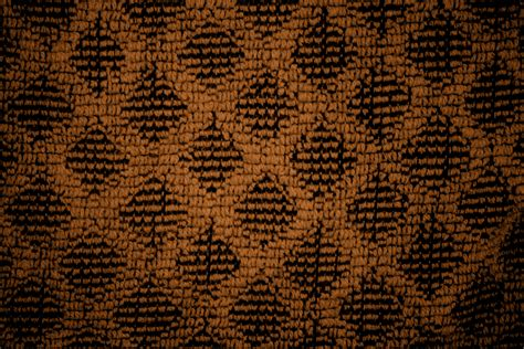 brown diamond pattern rust brown dish towel with diamond pattern close up