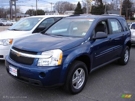 navy blue and white ls 2009 navy blue metallic chevrolet equinox ls 3572797