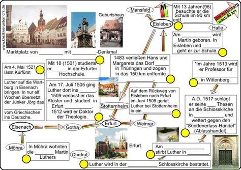 Lebenslauf Deutschunterricht Martin Luther Lebenslauf Geogrophische Darstellung
