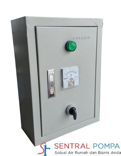 Panel Pompa Air Panel 1 Phase Untuk Pompa Submersible Dibawah 1 Hp Tanpa