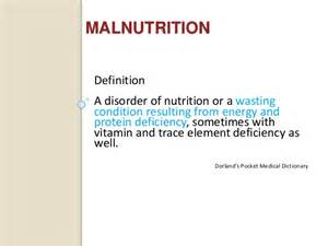 Outline Consequences Of Protein Deficiency Malnutrition by Nutrition In Surgery