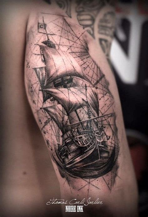 boat tattoos designs 100 best images about pirate ship tattoos on