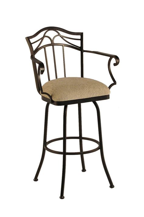 Bar Stools That Swivel And Arms by Callee Berkeley Metal Swivel Stool Durable Comfortable