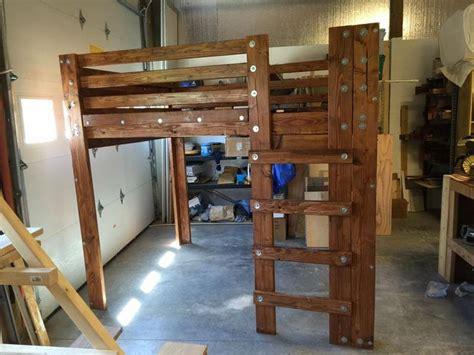 queen loft bed plans best 25 queen loft beds ideas on pinterest queen bed