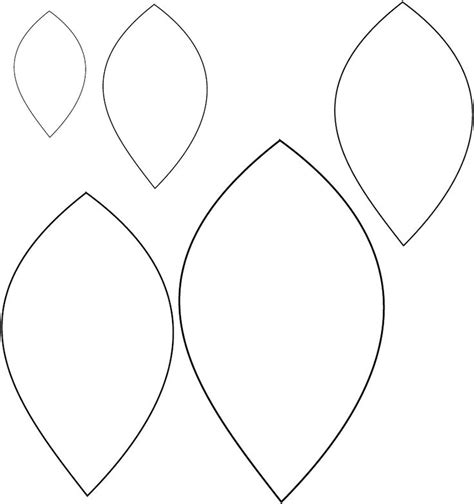 leaf templates printable printable leaf template scribd patterns
