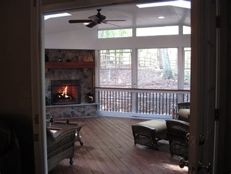 screened in porch designs with fireplace screened porch with corner fireplace home design ideas