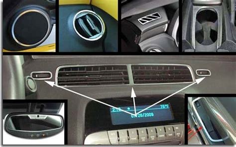 Camaro Interior Trim Kit by Stainless Interior Trim Kit For 2010 2011 Camaro Pfyc
