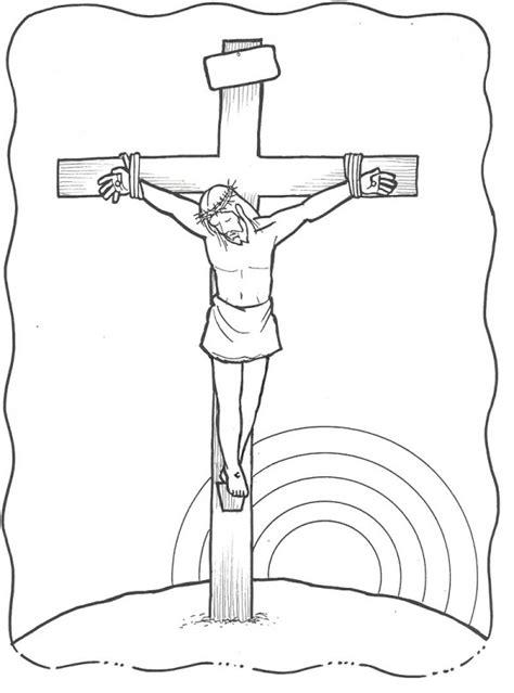 imagenes de jesus crucificado para colorear dibujos del v 237 a crucis de jes 250 s para colorear colorear