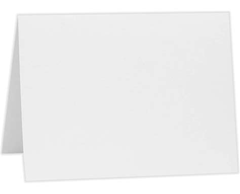 A7 Folded Card Template by A7 Folded Card 5 1 8 X 7 80lb 80lb Bright White