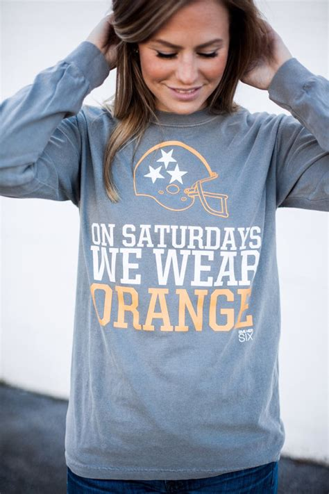 Page Wears Worn Free T Shirts On Saturday Live on saturdays we wear orange sleeve