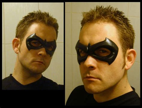 How To Make A Robin Mask Out Of Paper - sidekick robin mask by 4thwalldesign on deviantart