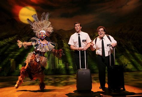 the book of mormon pictures the book of mormon at eugene o neill theater review