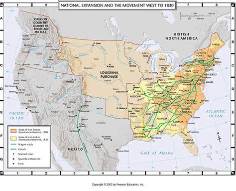 american movement 1830 map answers atlas map national expansion and the movement west to 1830