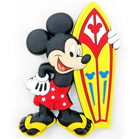 8564 Yellow Mickey Mouse your wdw store disney kitchen magnet mickey mouse