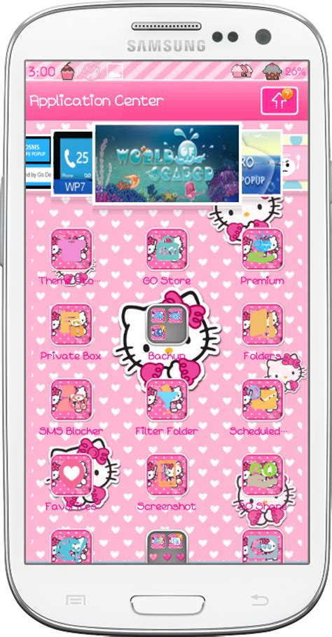 go sms themes hello kitty black hello kitty go sms theme download theme hello kitty go