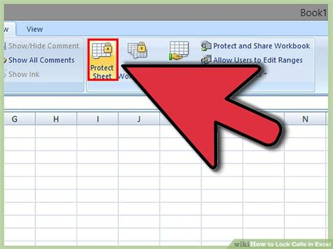 excel 2007 lock cell format how to lock cells in excel with pictures wikihow