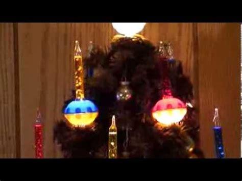 christmas lights bubble l vintage noma bubble light christmas tree youtube