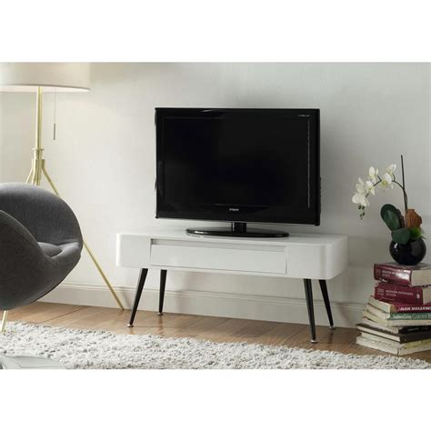 white tv console table baxton studio bourbannis white and light brown console