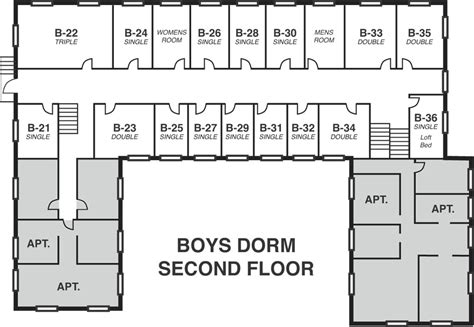 dorm room floor plan dorm room booking center for anthroposophy