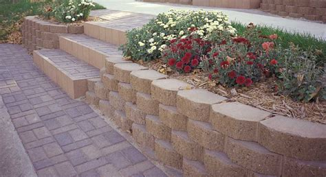 keystone garden wall retaining wall blocks rcp block brick
