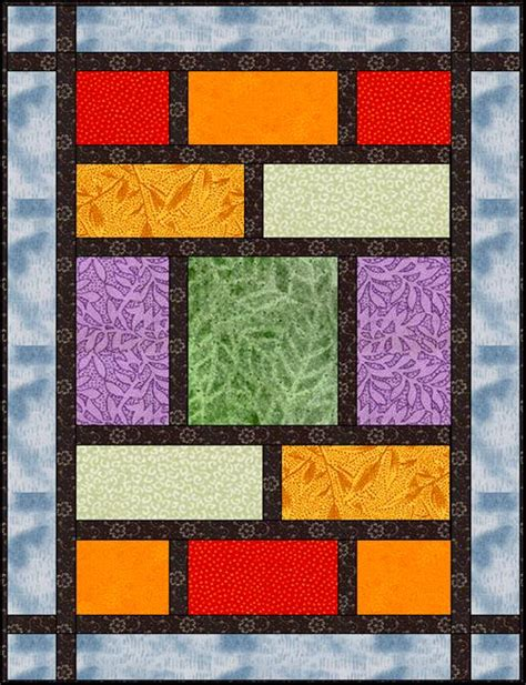 Quarter Quilt Patterns Easy by Fats A Modern Quarter Quilt Lyn Brown S