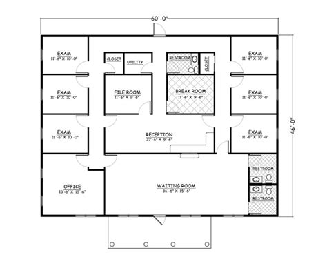 doctor office floor plan house plans home plans and floor plans from ultimate plans
