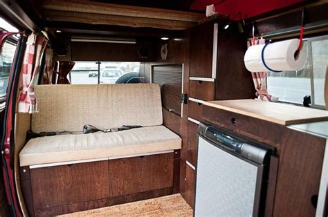 Vanagon Westfalia Interior by Custom Cherry Wood Vanagon Interior Cing
