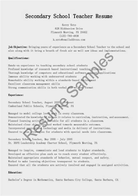 11 sample application letter for teachers basic job