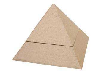 How To Make A Paper Mache Pyramid - papier mache pyramid box mta catalogue