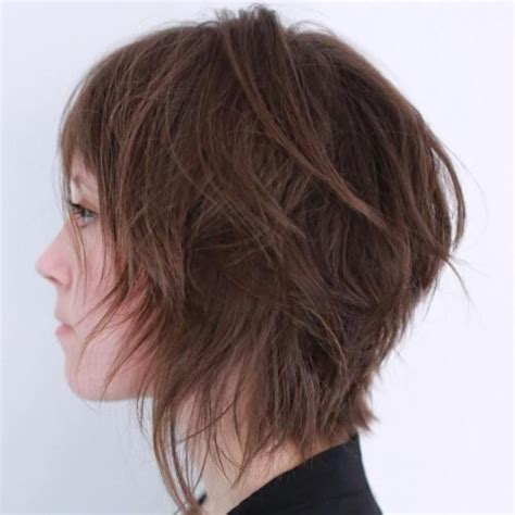 wispy bob haircut pictures wispy shag hairstyles 17 best images about short layer