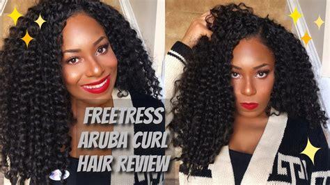 freetress aruba curl braid crochet braids by me freetress aruba curl crochet hair review comparison to