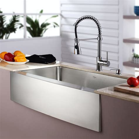 Kitchen Faucet For Farmhouse Sinks Top 10 Modern Apron Front Sinks