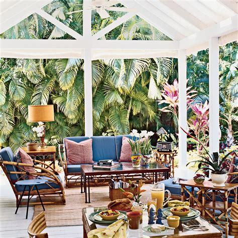 key west cabana key west style interiors and homes use bamboo furniture vintage coastal style coastal living