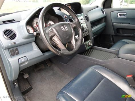 blue interior 2009 honda pilot touring photo 60549736
