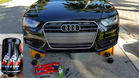 Oil For Audi A4 by K N Audi A4 Oil Filter Change Easy Tutorial For B8 B8 5
